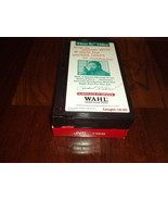 """1997 """"HOW TO"""" Choose, Grow & Style Perfect BEARD or MUSTACHE VHS By WAHL... - $14.99"""