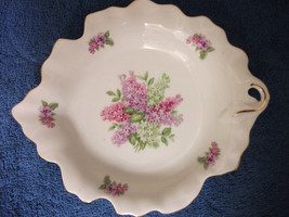 SCHUMANN ARZBERG DISH PLATE BOWL GOLDEN CROWN E&R 1886 LILAC TIME GERMANY - $37.39