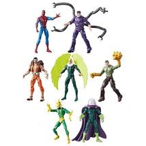 "Hasbro Marvel Legends Infinite SPIDER-MAN v SINISTER SIX 3.75"" Retro 7fi... - $76.73"