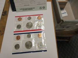 1989 , United States Mint , Uncirculated Mint Set , Lot of 5 Sets image 4