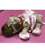 Mattel 2004 Pound Puppies plush ballerina dog - $14.80