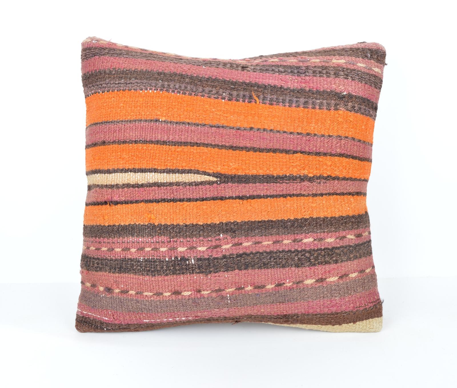 Modern Rustic Pillow : 16x16