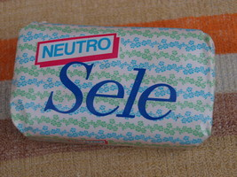 VINTAGE SOAP NEUTRO SELE MADE IN ITALY ABOUT 1980 NOS - $7.91