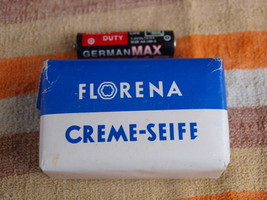 VINTAGE BEAUTY SOAP FLORENA MADE IN DDR ABOUT 1... - $9.88