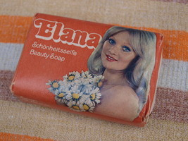 VINTAGE SOAP ELANA MADE IN DDR ABOUT 1980 NOS - $9.88