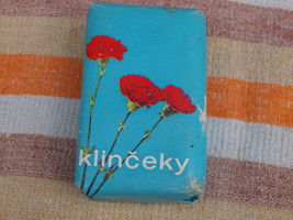 VINTAGE SOAP KLYNCEKI MADE IN SLOVAKIA ABOUT 19... - $9.88