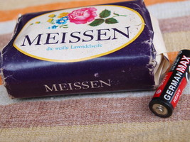 VINTAGE SOAP MEISSEN MADE IN DDR ABOUT 1980 NOS - $10.28