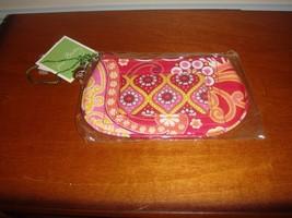 Vera Bradley Raspberry Fizz Clip Zip ID Case - $14.99