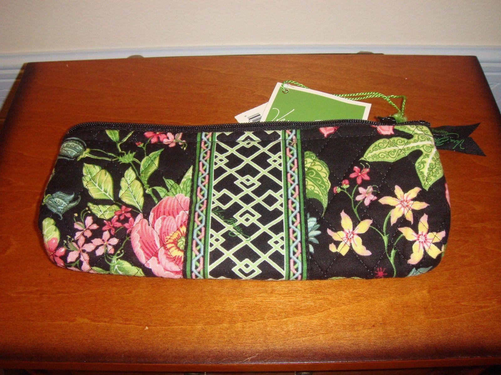 Vera Bradley Botanica Brush Pencil Case