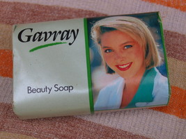 VINTAGE SOAP GAVRAY BEAUTY SOAP MADE IN ENGLAND ABOUT 1980 NOS - $10.28