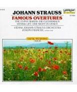 Johann Strauss Famous Overtures (CD, 1989, Delta Music) Johann Strauss O... - $12.49
