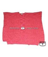 INKASSOUL SQUARED WRAP WOMEN  -  30%polyamide & 70%acrylic, BR-953 (pink/red) - $90.00
