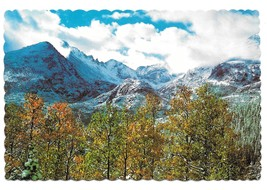 Longs Peak Keyboard of the Winds Rocky Mountains Colorado Vintage 4X6 Po... - $4.99