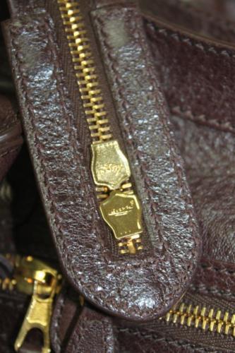New Balenciaga City Giant 12 Arena Cigar Leather Bag
