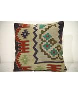 Kilim Pillows | 16x16 | Turkish pillows | 1048 | Ethnic Pillow , Kelim c... - $29.40