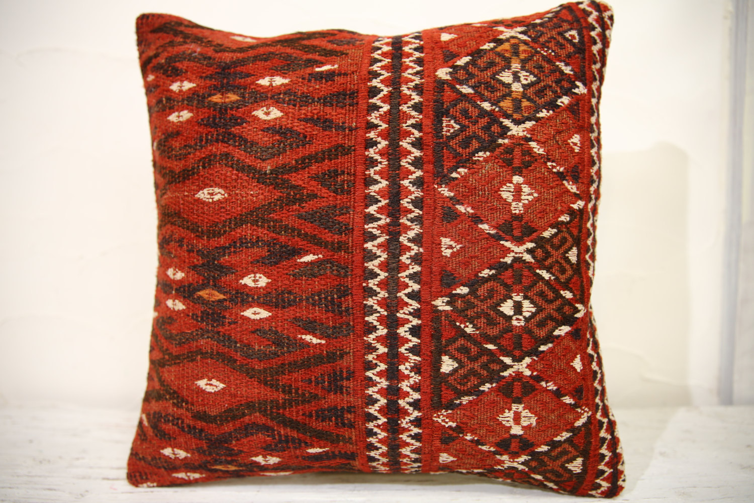 Kilim Pillows | 16x16 | turkish pillows | 962 | Accent Pillows , Decorative Pill