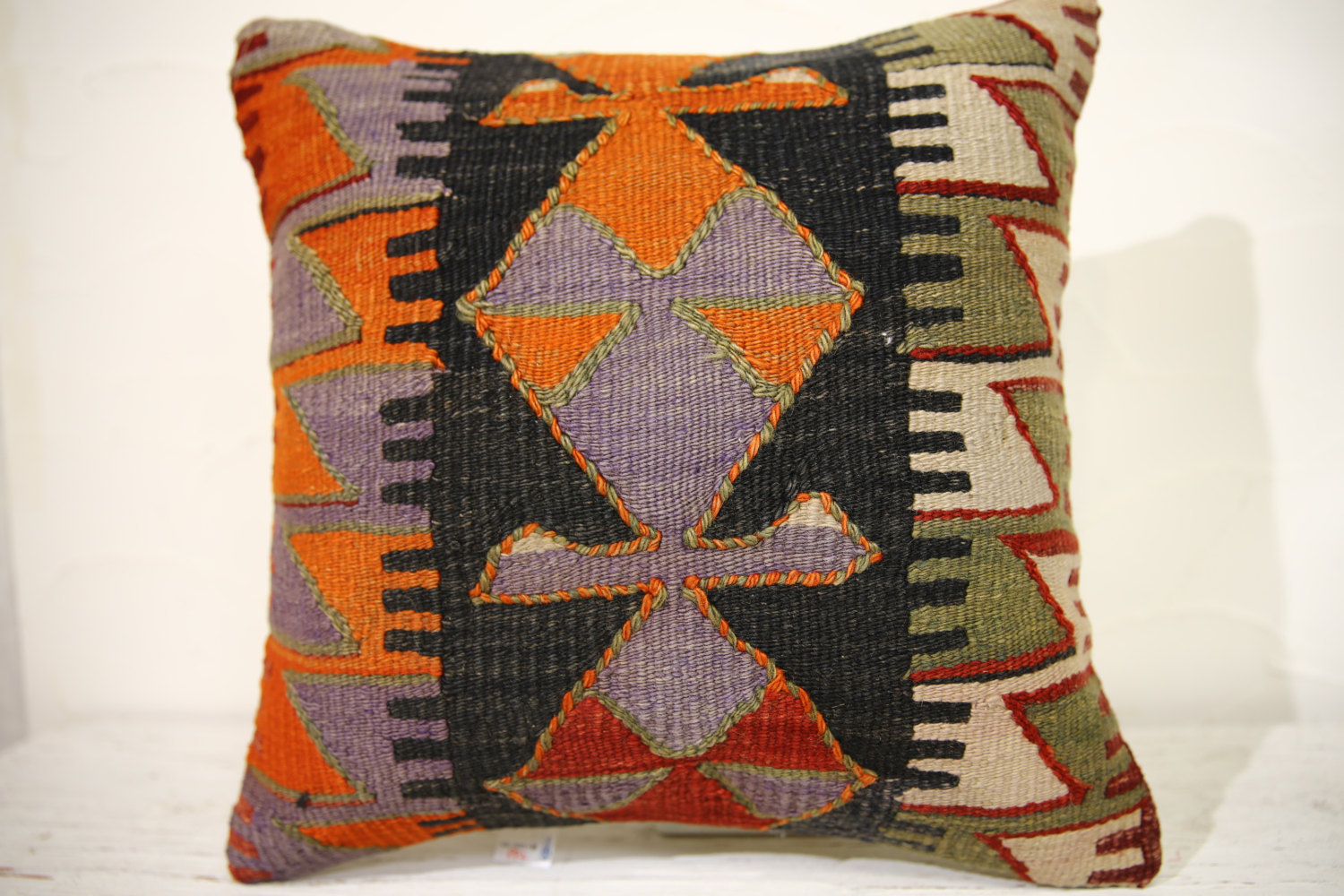 Kilim Pillows | 16x16 | Decorative Pillows | 882 | Accent Pillows , turkish pill