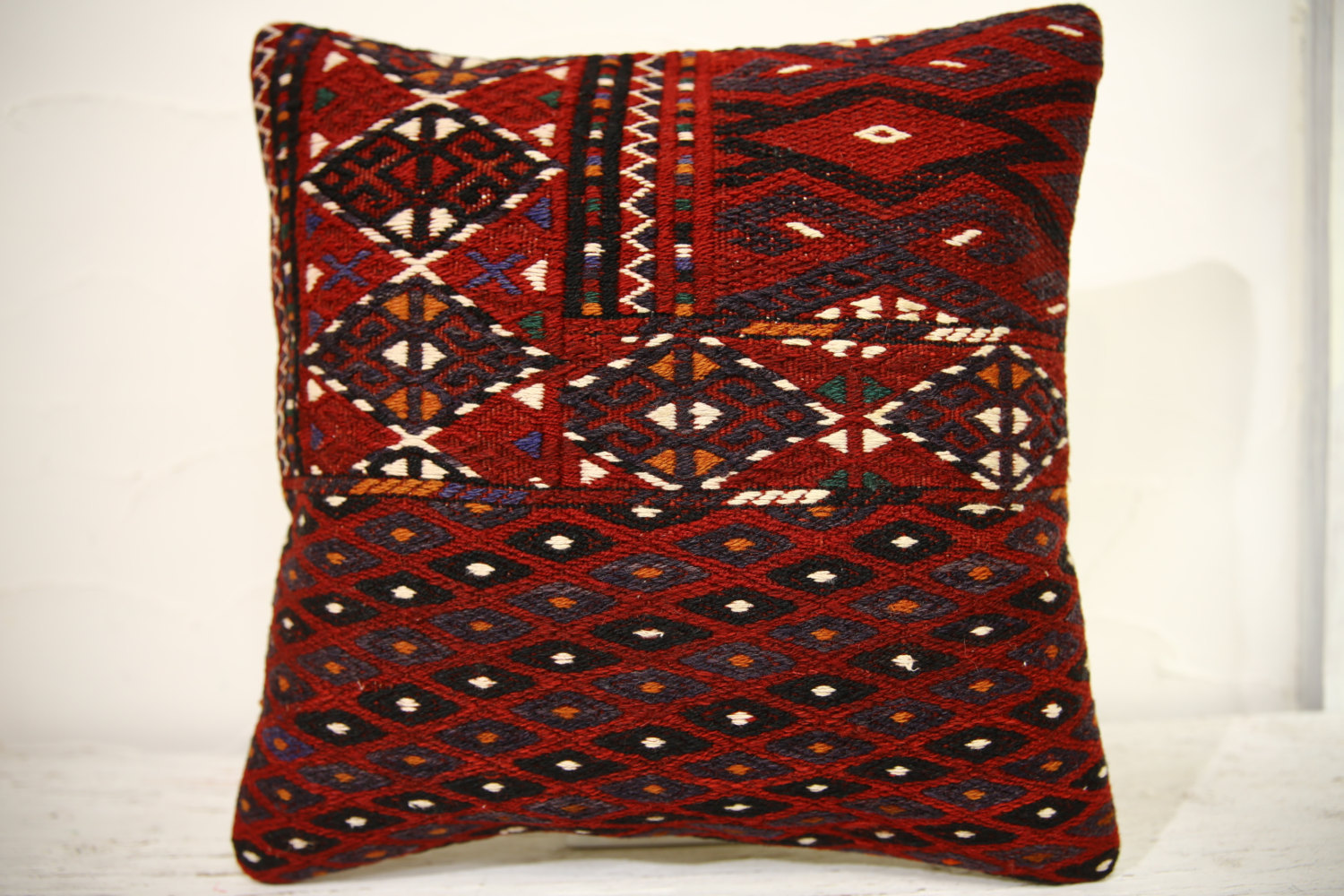 Kilim Pillows | 16x16 | Decorative Pillows | 890 | Accent Pillows , turkish pill