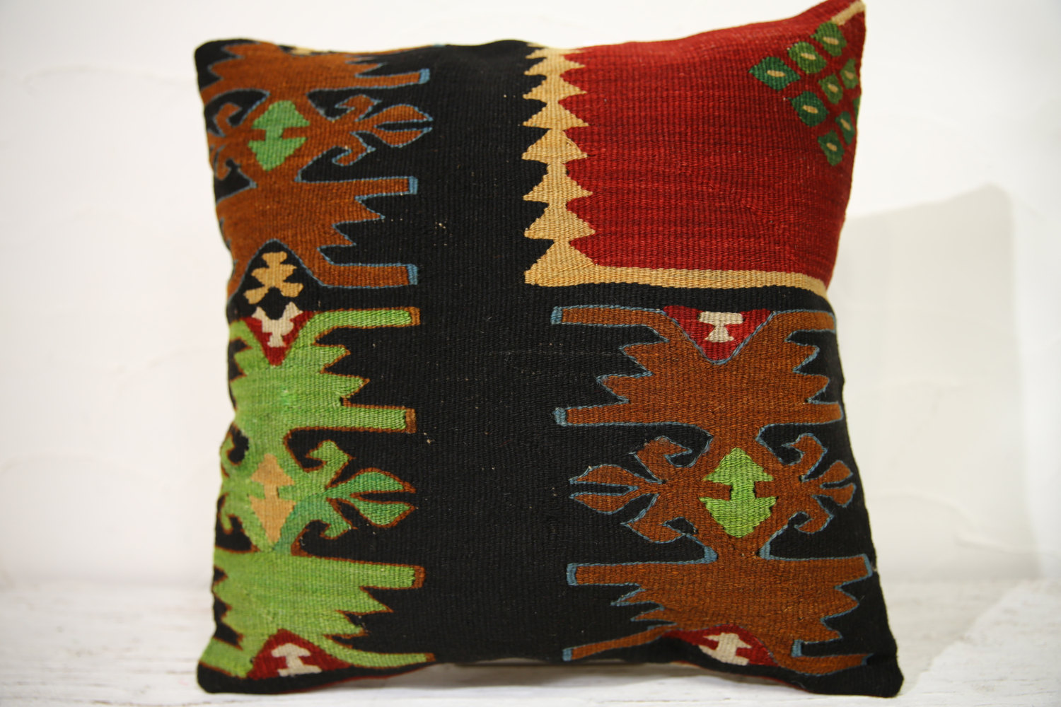 Kilim Pillows | 16x16 | Decorative Pillows | 879 | Accent Pillows , turkish pill