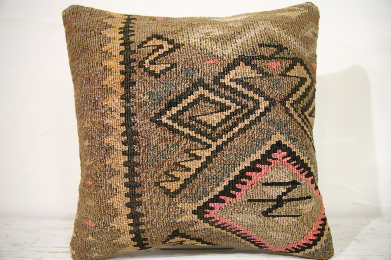 Kilim Pillows | 16x16 | Decorative Pillows | 873 | Accent Pillows , turkish pill