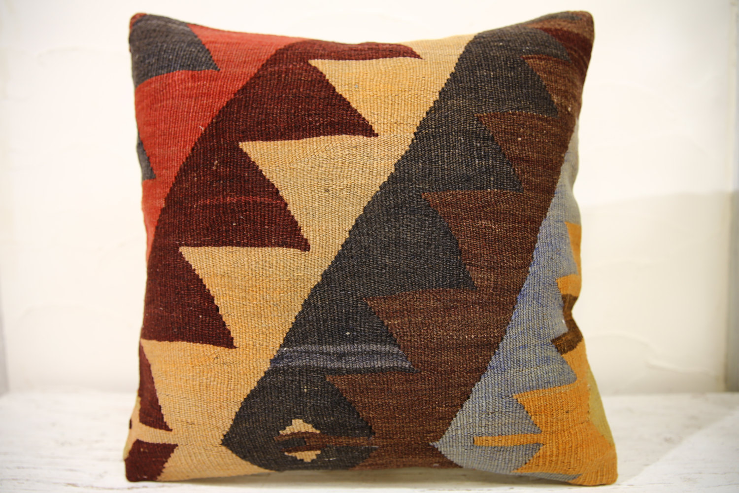 Kilim Pillows | 16x16 | Decorative Pillows | 831 | Accent Pillows , turkish pill