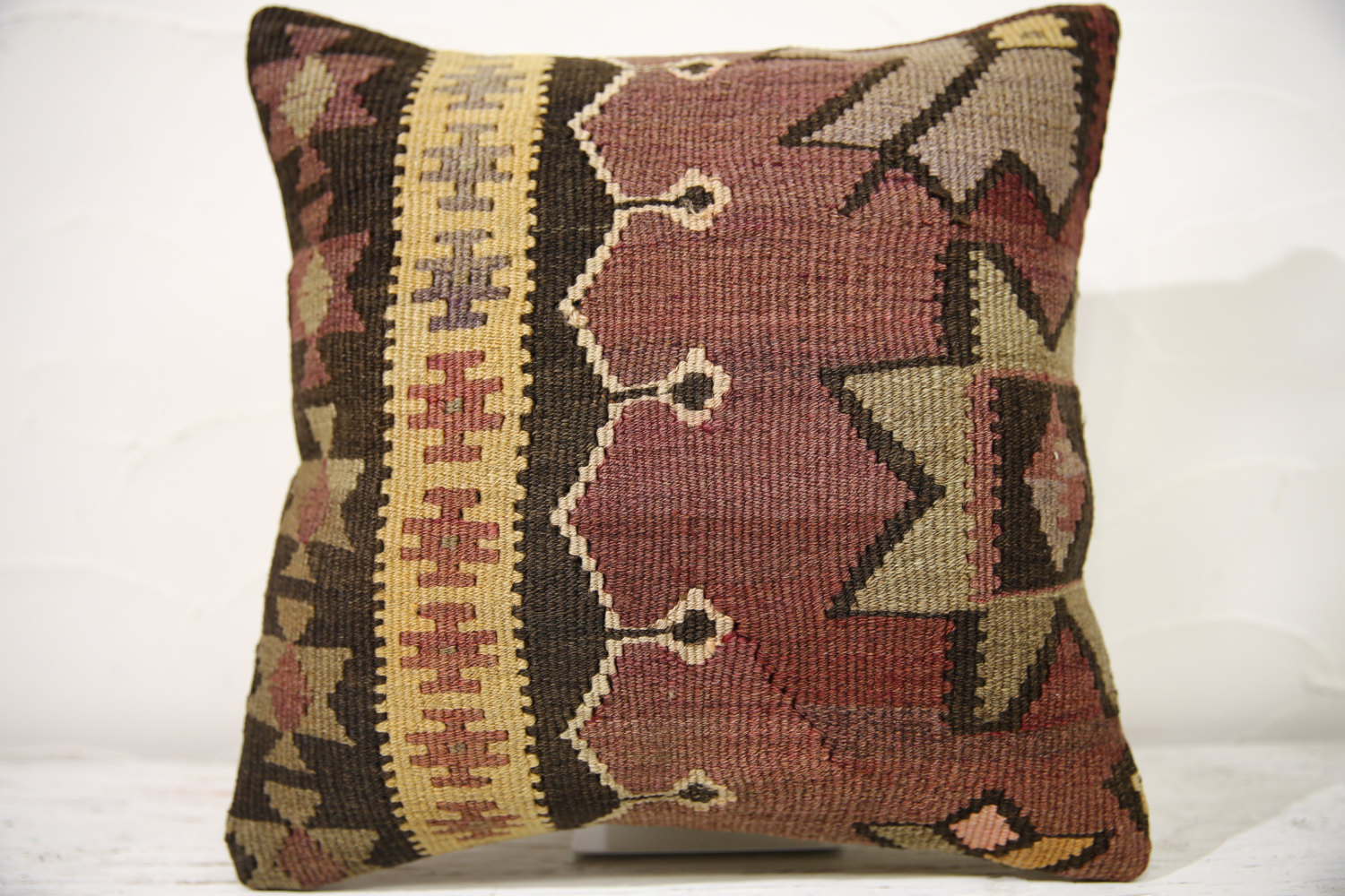 Kilim Pillows | 16x16 | Decorative Pillows | 815 | Accent Pillows , turkish pill