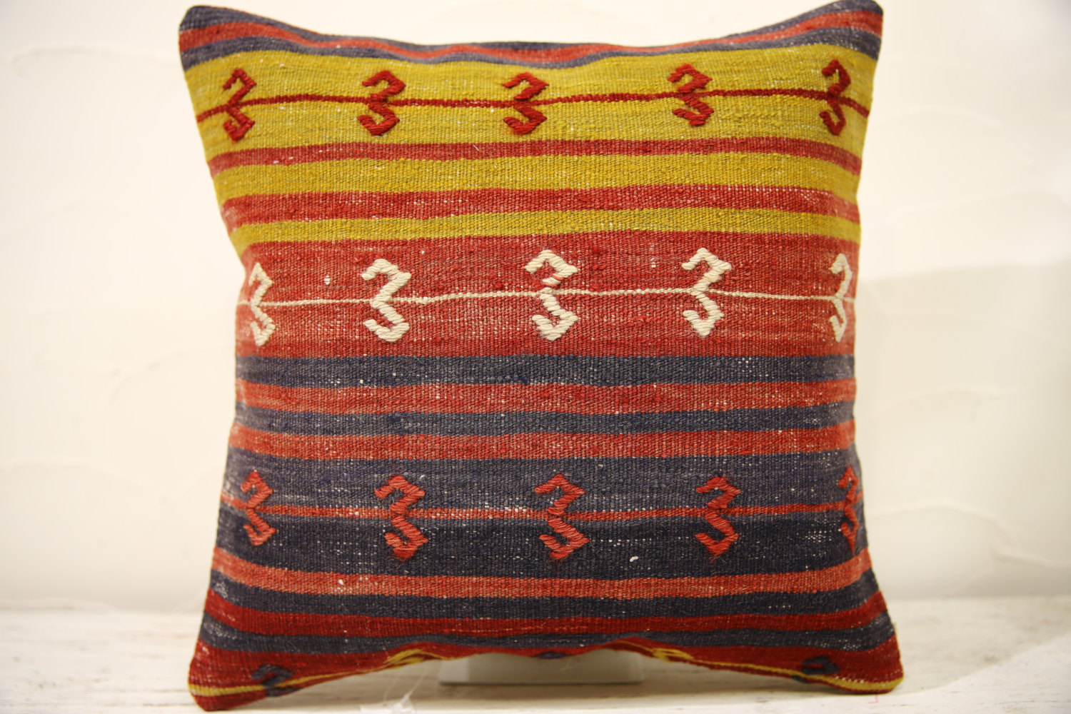 Kilim Pillows | 16x16 | Decorative Pillows | 801 | Accent Pillows , turkish pill