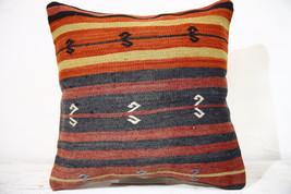 Kilim Pillows | 16x16 | Decorative Pillows | 797 | Accent Pillows , turk... - $42.00