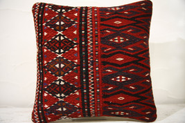Kilim Pillows | 16x16 | Decorative Pillows | 774 | Accent Pillows , turk... - $49.00