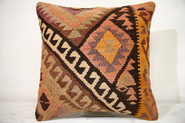 Kilim Pillows | 16x16 | Decorative Pillows | 769 | Accent Pillows , turk... - $49.00
