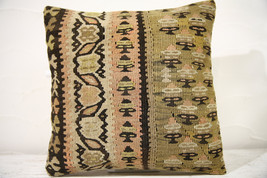Kilim Pillows | 16x16 | Decorative Pillows | 773 | Accent Pillows , turk... - $49.00