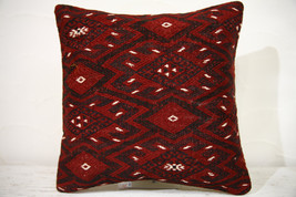 Kilim Pillows |16x16 | Decorative Pillows | 759 | Accent Pillows , turki... - $49.00