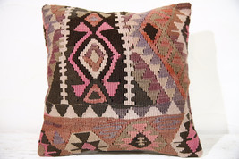 Kilim Pillows |16x16 | Decorative Pillows | 766 | Accent Pillows , turki... - $49.00