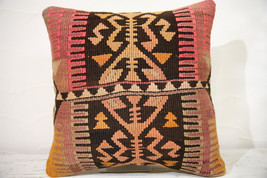 Kilim Pillows | 16x16 | Decorative Pillows | 770 | Accent Pillows , turk... - $56.00