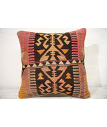 Kilim Pillows | 16x16 | Decorative Pillows | 770 | Accent Pillows , turk... - $56.00
