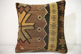 Kilim Pillows |16x16 | Decorative Pillows | 763 | Accent Pillows , turki... - $56.00