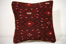 Kilim Pillows |16x16 | Decorative Pillows | 753 | Accent Pillows , turki... - $49.00