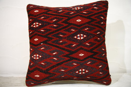 Kilim Pillows |16x16 | Decorative Pillows | 762 | Accent Pillows , turki... - $49.00