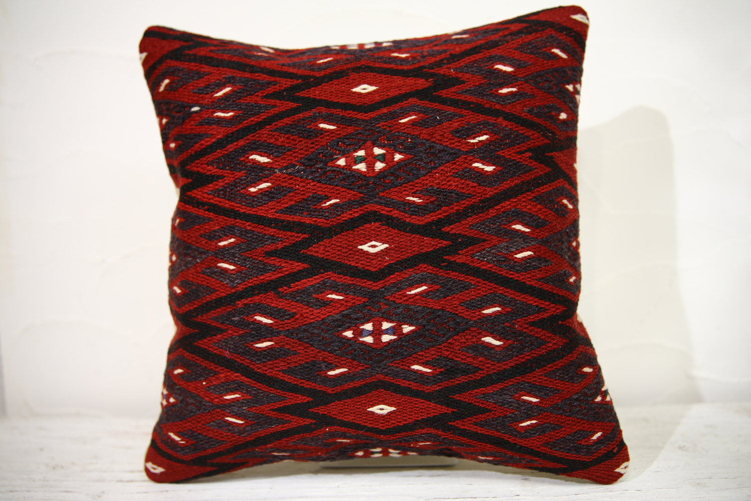 Kilim Pillows |16x16 | Decorative Pillows | 755 | Accent Pillows , turkish pillo