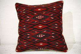 Kilim Pillows |16x16 | Decorative Pillows | 755 | Accent Pillows , turki... - $49.00