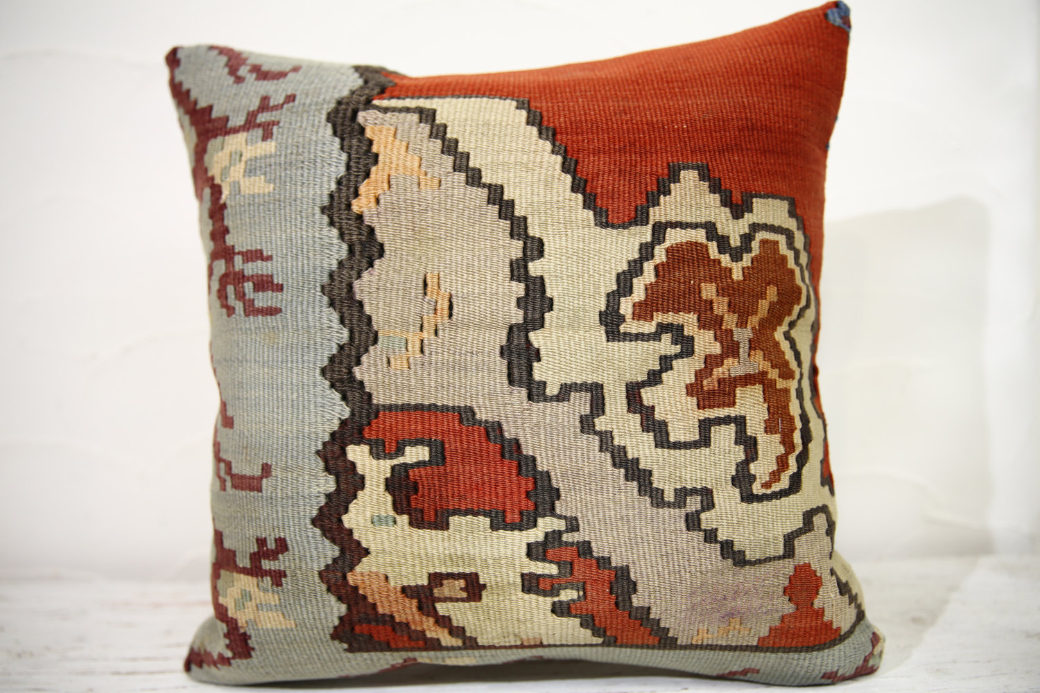 Kilim Pillows |16x16 | Decorative Pillows | 758 | Accent Pillows , turkish pillo