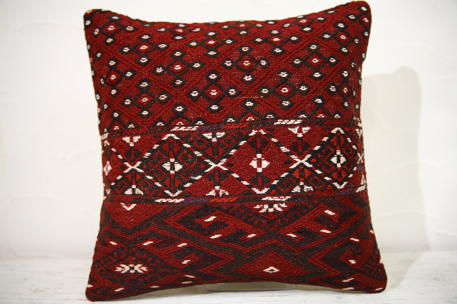 Kilim Pillows |16x16 | Decorative Pillows | 760 | Accent Pillows , turkish pillo