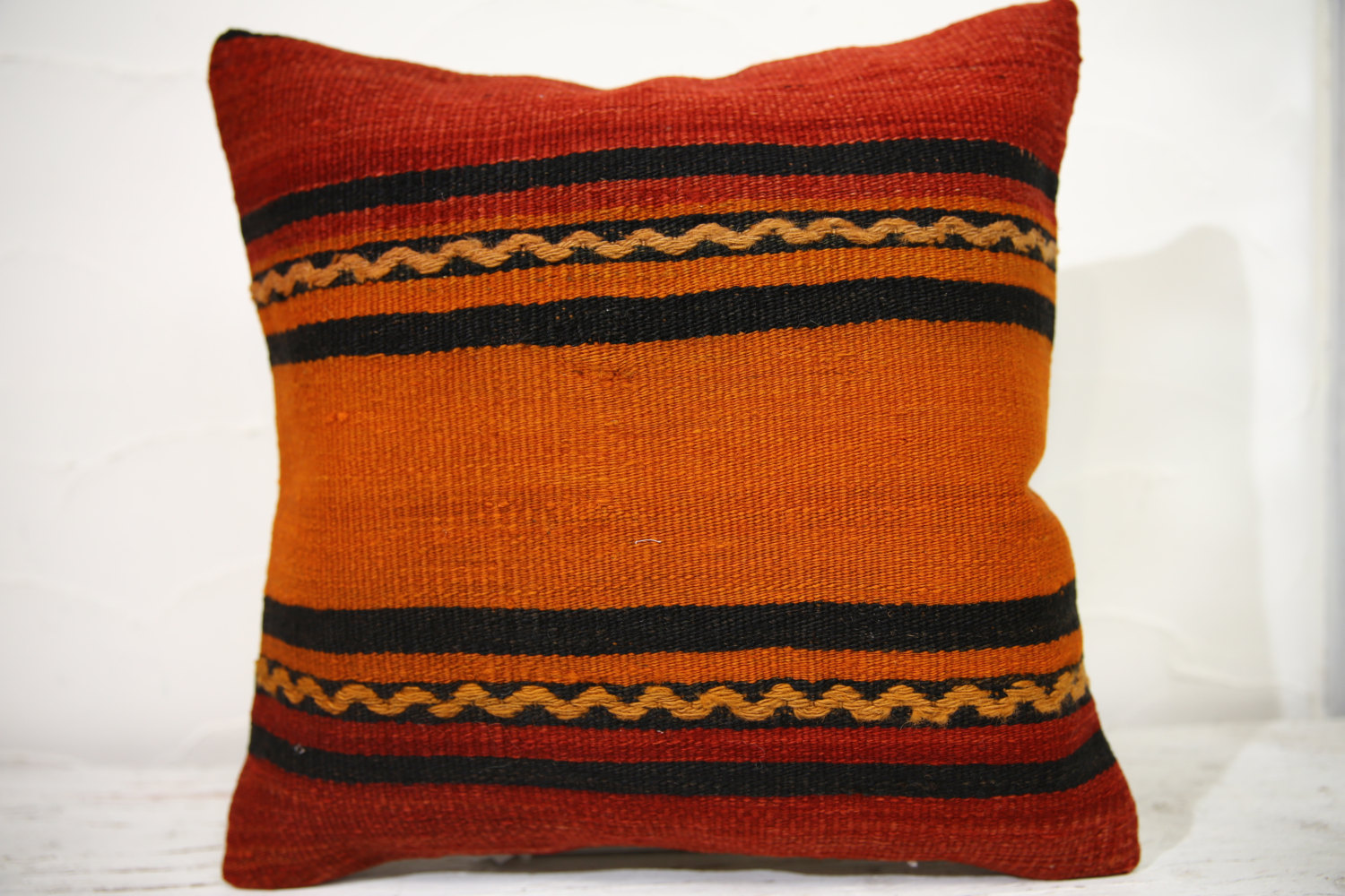 Kilim Pillows |16x16 | Decorative Pillows | 756 | Accent Pillows , turkish pillo