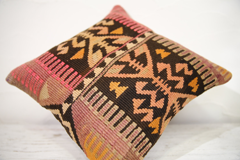 Kilim Pillows | 16x16 | Decorative Pillows | 770 | Accent Pillows , turkish pill