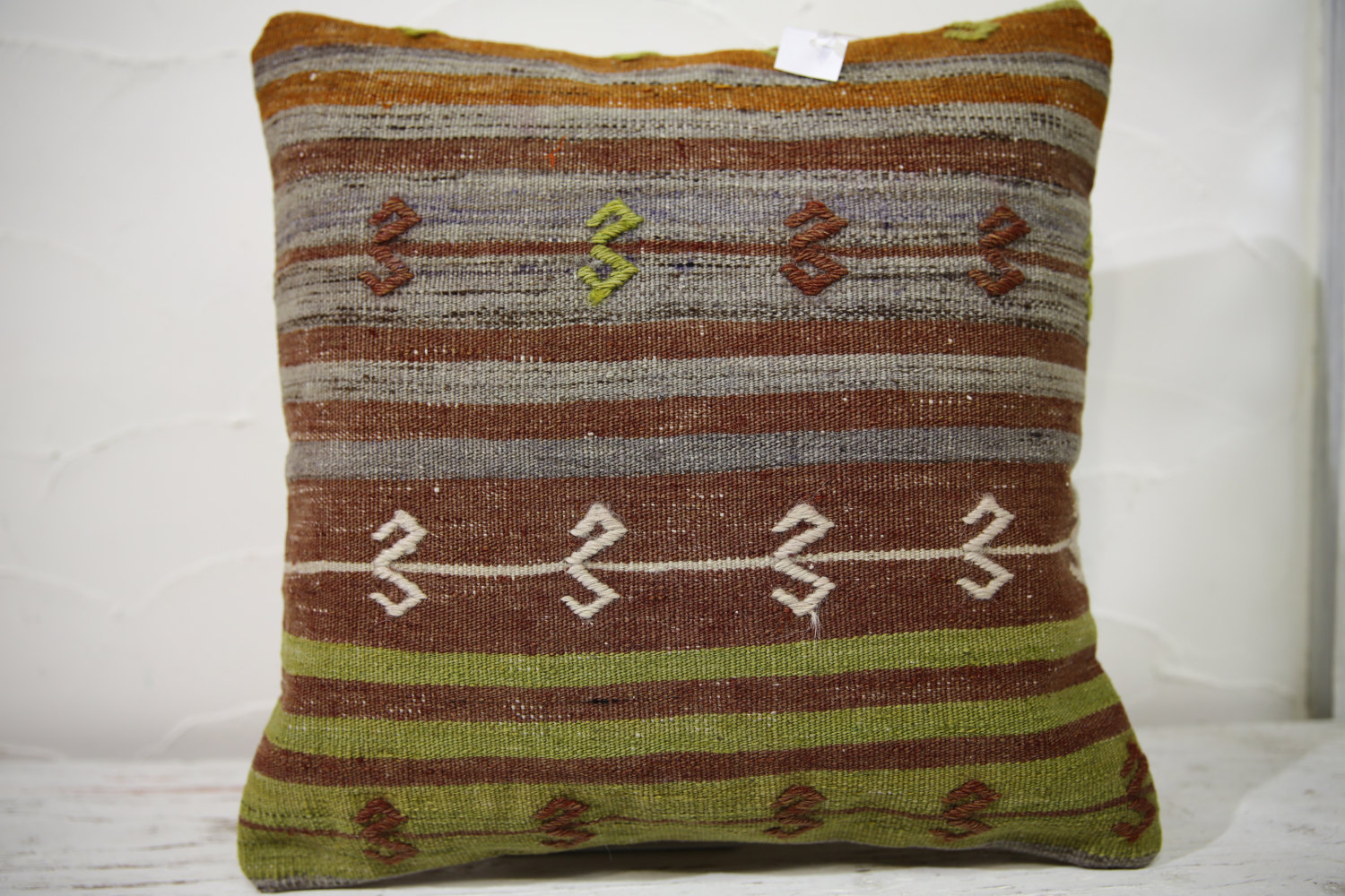 Kilim Pillows |16x16 | Decorative Pillows | 735 | Accent Pillows , turkish pillo