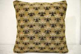 Kilim Pillows |16x16 | Decorative Pillows | 702 | Accent Pillows , turki... - $49.00