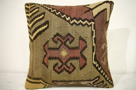 Kilim Pillows |16x16 | Decorative Pillows | 700 | Accent Pillows , turki... - $56.00