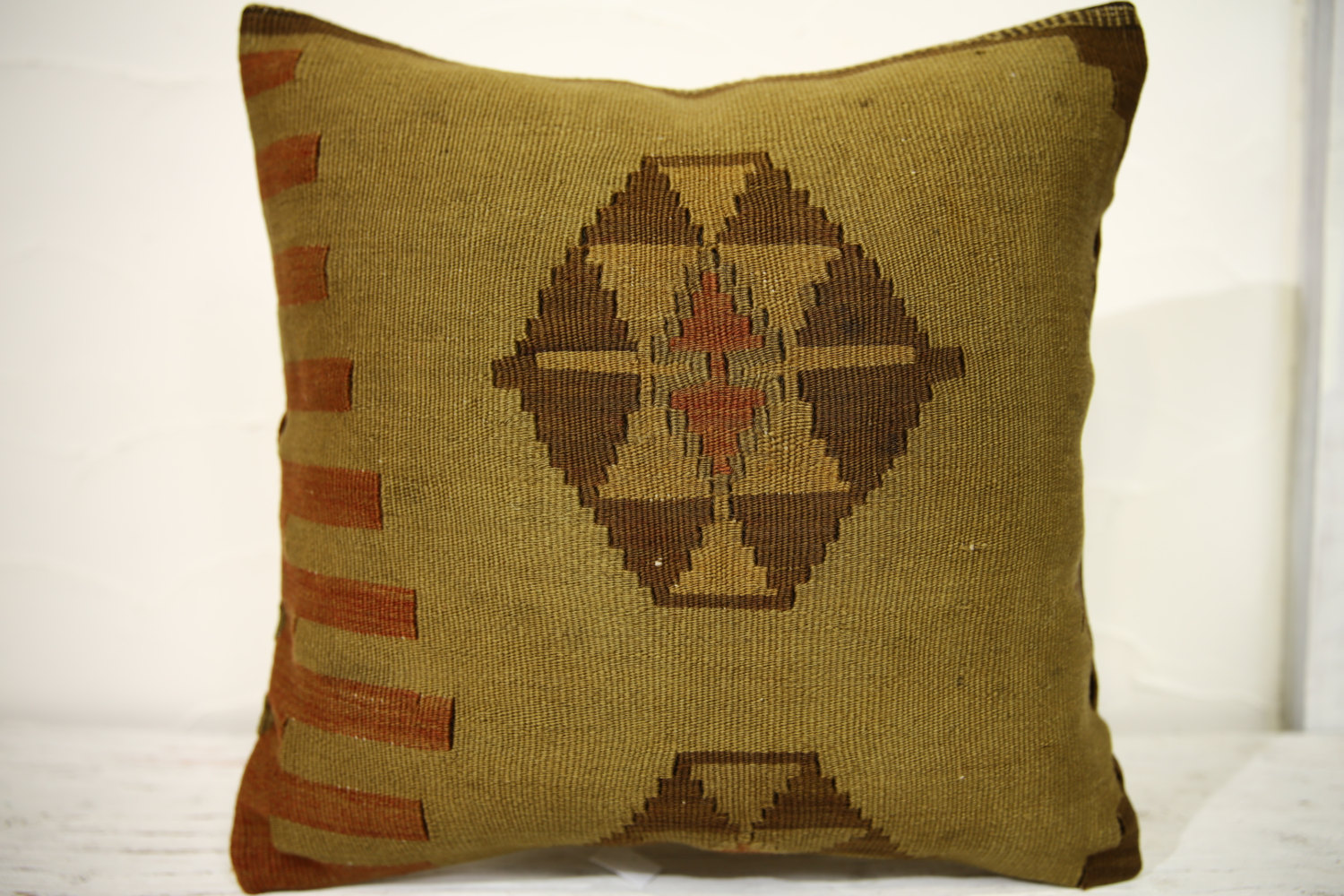 Kilim Pillows |16x16 | Decorative Pillows | 698 | Accent Pillows , turkish pillo