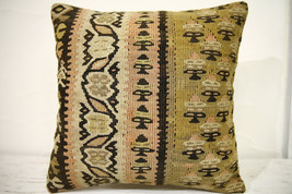 Kilim Pillows |16x16 | Decorative Pillows | 699 | Accent Pillows , turki... - $49.00