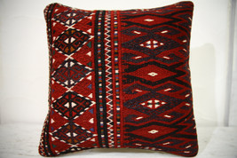 Kilim Pillows |16x16 | Decorative Pillows | 687 | Accent Pillows , turki... - $49.00